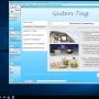 LawFirm®-Startfenster, Anwaltssoftware LawFirm®- und Office 2016 Icons und die Startmenü-Oberfläche von Windows Server 2016