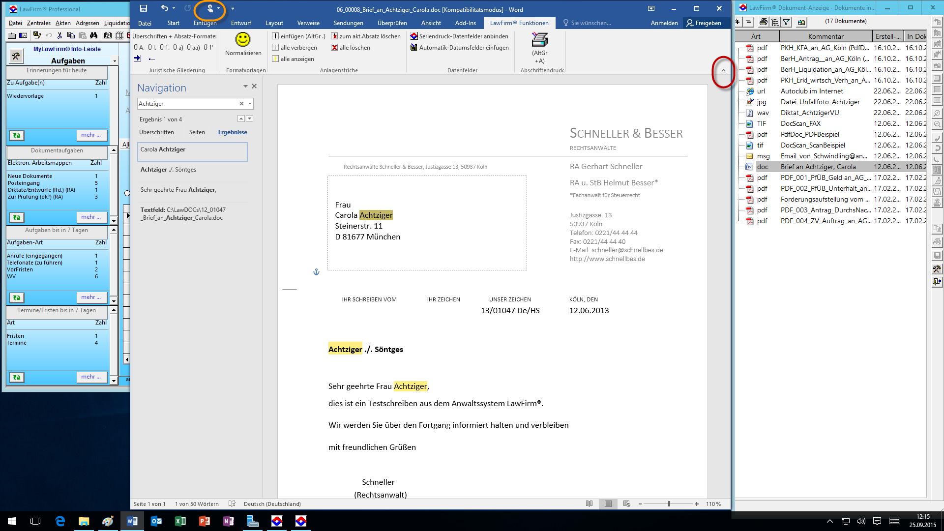 Kanzleisoftware Lawfirm Mit Office 2016 Unter Windows Server 2016
