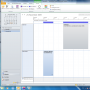 LawFirm® + Outlook 2010 Kalender Planungsansicht (Test zur Synchronisation)